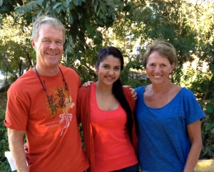Jane & Bill Jackson with their Newly Sponsored 3rd Year University Nursing Student, Jessica